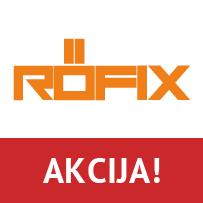 """Action sales """"Rofix"""" facade system"""